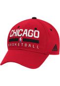 Chicago Bulls Adidas 2016 Practice Flex Hat - Red