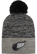Detroit Red Wings Adidas Jacquard Tonal Knit - Charcoal