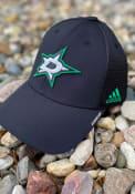 Dallas Stars Adidas Primary Structured Adjustable Hat - Black