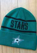 Dallas Stars Adidas Primary Cuff Knit - Green