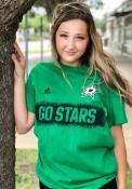 Dallas Stars Adidas Spray It On T Shirt - Kelly Green