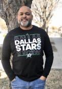 Dallas Stars Adidas Dassler NHL Remix T Shirt - Black