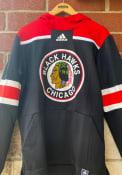 Chicago Blackhawks Adidas Under The Lights Hood - Black