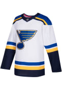 St Louis Blues Adidas Authentic Jersey Hockey Jersey - White
