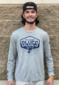 St Louis Blues Adidas Side Street T-Shirt - Grey