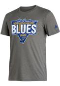 St Louis Blues Adidas Dead Stockage Fashion T Shirt - Grey