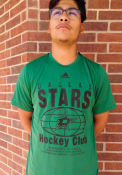 Dallas Stars Adidas Around the World T Shirt - Kelly Green
