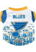St Louis Blues Team Pet T-Shirt
