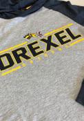 Drexel Dragons Colosseum Slopestyle Hooded Sweatshirt - Grey