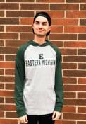 Eastern Michigan Eagles Colosseum Slopestyle Hooded Sweatshirt - Grey