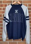 Xavier Musketeers Colosseum Oh Fashion Sweatshirt - Navy Blue