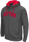 Dayton Flyers Colosseum Classic Full Zip Jacket - Charcoal