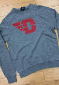 Dayton Flyers Colosseum Henry French Terry Crew Sweatshirt - Grey