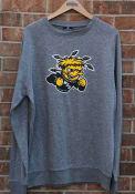 Wichita State Shockers Colosseum Henry French Terry Crew Sweatshirt - Grey