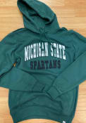 Michigan State Spartans Colosseum Rebel Hooded Sweatshirt - Green
