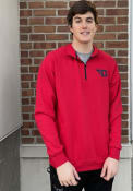 Colosseum Dayton Flyers Red Rally 1/4 Zip Pullover