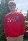 Dayton Flyers Colosseum Rally Crewneck Crew Sweatshirt - Red