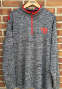 Dayton Flyers Colosseum Brooks 1/4 Zip Pullover - Charcoal