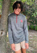 Oklahoma Sooners Colosseum Brooks 1/4 Zip Pullover - Charcoal