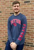 Dayton Flyers Colosseum Jackson T Shirt - Navy Blue
