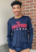 Dayton Flyers Colosseum Landry T-Shirt - Navy Blue