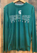 Colosseum Michigan State Spartans Green Landry Tee