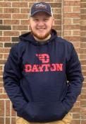Dayton Flyers Colosseum Showtime Hood - Navy Blue