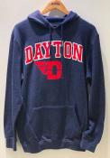 Dayton Flyers Colosseum Campus Hooded Sweatshirt - Navy Blue