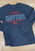 Dayton Flyers Colosseum Playbook Fashion T Shirt - Charcoal