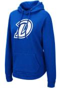 Drake Bulldogs Womens Colosseum Crossover Hooded Sweatshirt - Blue