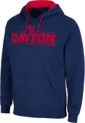 Dayton Flyers Colosseum Brennan Hooded Sweatshirt - Navy Blue