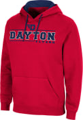 Dayton Flyers Colosseum Brennan Hooded Sweatshirt - Red