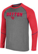 Dayton Flyers Colosseum George T-Shirt - Charcoal