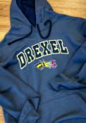 Drexel Dragons Colosseum Manning Hooded Sweatshirt - Charcoal