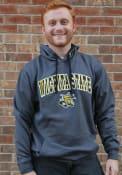 Wichita State Shockers Colosseum Manning Hooded Sweatshirt - Charcoal