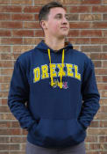 Drexel Dragons Colosseum Rush Hooded Sweatshirt - Navy Blue