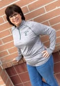 Eastern Michigan Eagles Womens Colosseum Athena 1/4 Zip - Grey