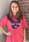 Dayton Flyers Comfort Wash T Shirt - Red