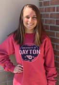 Dayton Flyers Comfort Wash Crew Sweatshirt - Red