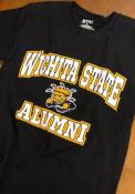 Wichita State Shockers Black Alumni Tee