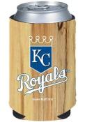 Kansas City Royals Wood Grain Can Coolie
