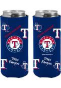 Texas Rangers Flashback Slim Can Coolie