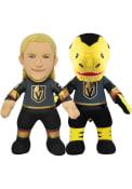 Vegas Golden Knights William Karlsson and Chance Knights Bundle 10 inch Plush