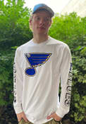 St Louis Blues Maverick Fashion T Shirt - White