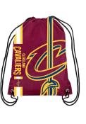 Cleveland Cavaliers Big Logo String Bag - Maroon
