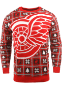 Detroit Red Wings Big Logo Sweater - Red