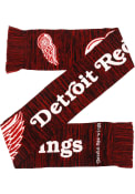 Detroit Red Wings Big Logo Colorblend Scarf - Red