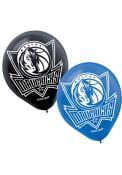 Dallas Mavericks 12 Inch 6 Pack Latex Balloon