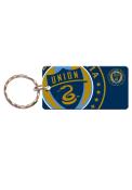 Philadelphia Union Team Logo Keychain