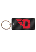 Dayton Flyers Carbon Keychain
